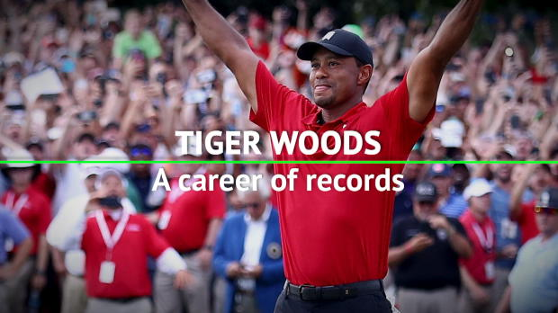 Tiger Woods - A career of records
