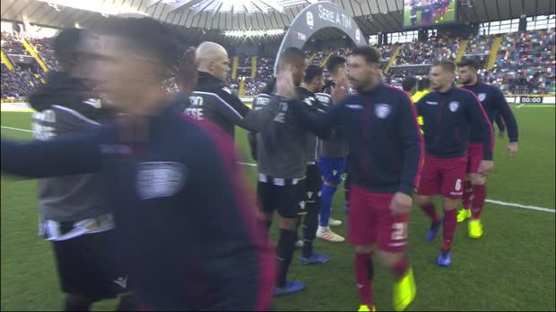 Serie A: Udinese - Cagliari | DAZN Highlights