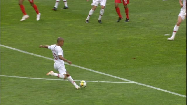 Joao Mario smashes home to double Portugal's lead Thumbnail