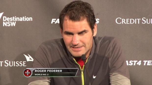 Federer, buenas sensaciones antes del Abierto de Australia