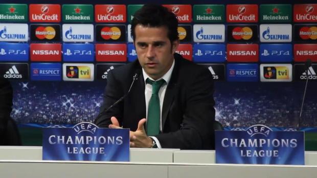 Groupe G - Silva satisfait par l'attitude du Sporting