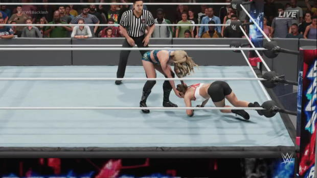 WWE 2K19 dream match: Ronda Rousey vs. Charlotte Flair
