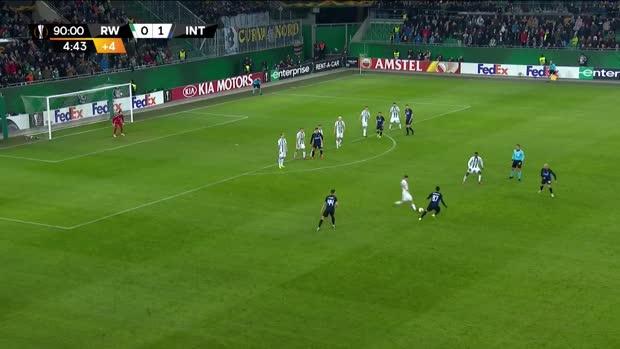 Freistoßvariante von Inter Mailand geht komplett in die Hose