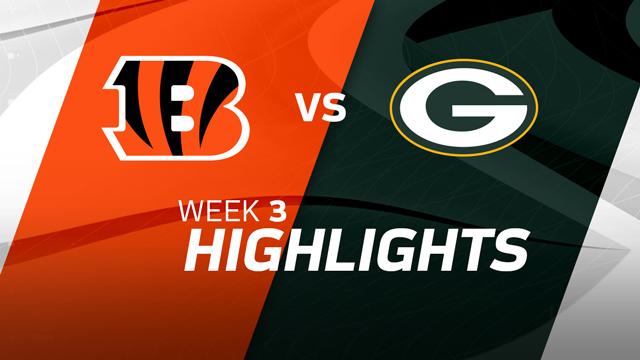Cincinnati Bengals vs. Green Bay Packers highlights | Week 3