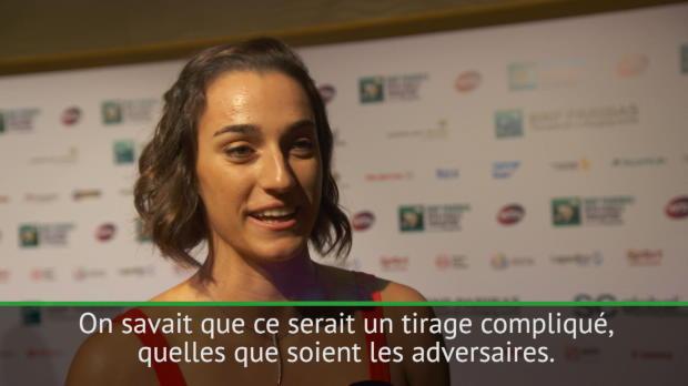 """Tennis : Masters - Garcia - """"Parfait de débuter par Halep"""""""