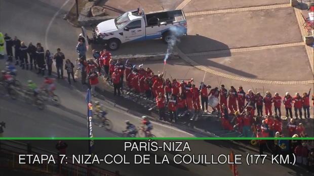París-Niza - Contador se sube al podio