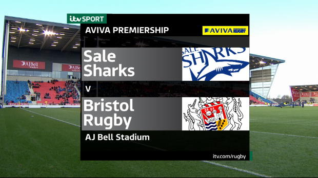 Aviva Premiership - Match Highlights - Sale Sharks v Bristol Rugby