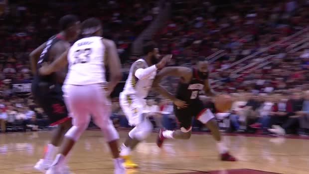 WSC: James Harden 40 points vs the Pacers
