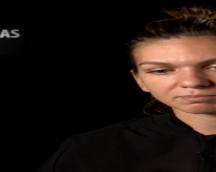 تنس: البطولة الختامية للموسم: ردّة فعل سيمونا هاليب بعد المباراة