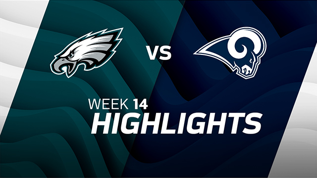 Philadelphia Eagles vs. Los Angeles Rams highlights | Week 14