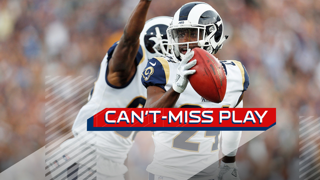 Can't-Miss Play: Rams block punt, scoop and score go-ahead TD