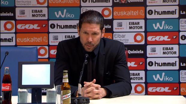 Avec un Griezmann, décisif et auteur du premier but, l'Atlético s'est imposé samedi contre Eibar (3-1) pourle plus grand plaisir de Diego Simeone, qui a apprécié l'aggressivité et l'envie affichées par ses hommes.