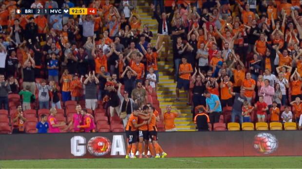 A-League: Broich köpft Last-Minute-Knockout