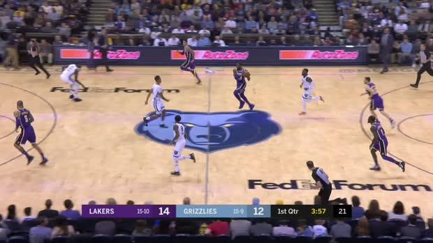 GAME RECAP: Lakers 111, Grizzlies 88