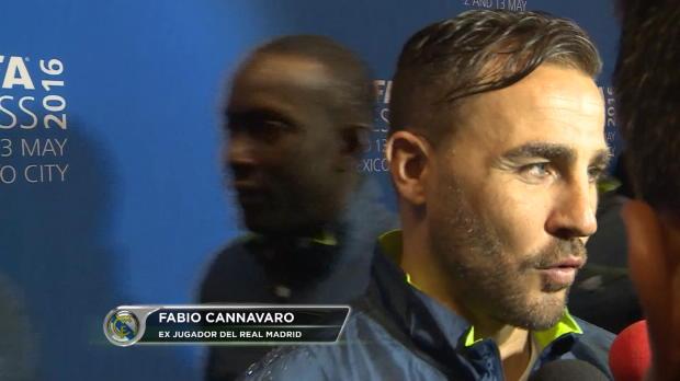 """Fabio Cannavaro: """"Jugar en el Azteca es un sue�o hecho realidad"""""""