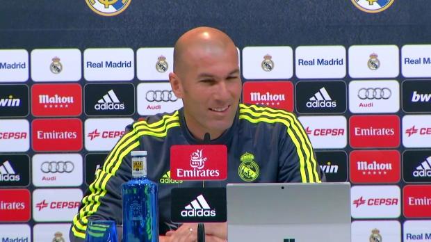 """Zidane fordert: """"Kämpfen bis zum Ende"""""""