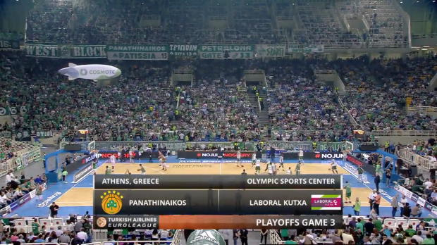 Highlights: Panathinaikos Athens-Laboral Kutxa Vitoria