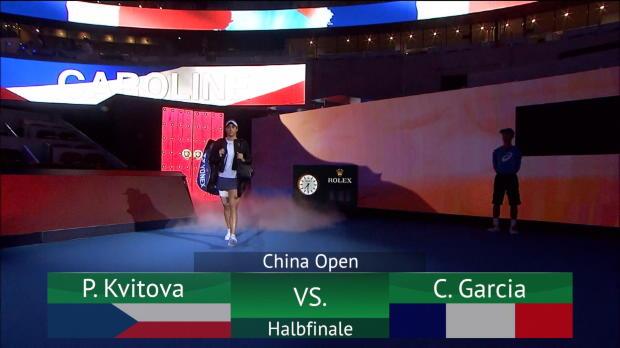 Peking: Kvitova-Pleite – Garcia im Finale