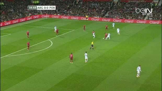 Amical : Portugal 1-0 Argentine