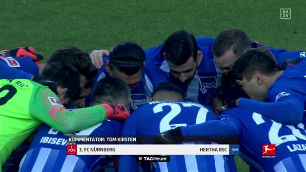 Bundesliga: 1. FC Nürnberg - Hertha BSC | DAZN Highlights