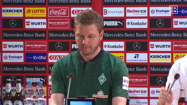 Kohfeldt gratuliert VfB zum Klassenerhalt