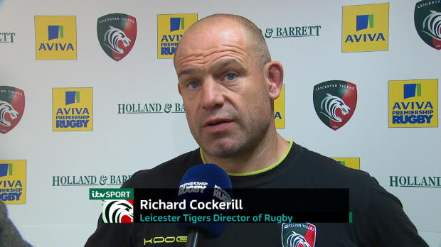 Aviva Premiership - Richard Cockerill Interview
