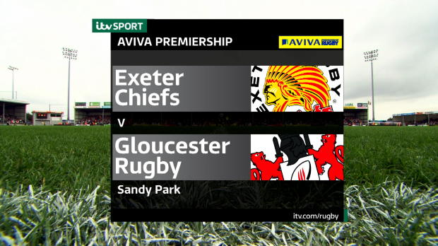 Aviva Premiership - Match Highlights - Exeter Chiefs v Gloucester Rugby