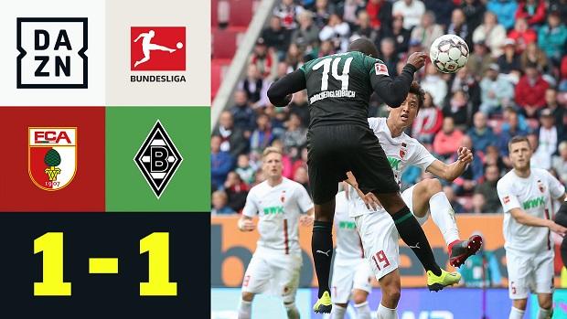 Bundesliga: FC Augsburg - Borussia M'gladbach | DAZN Highlights