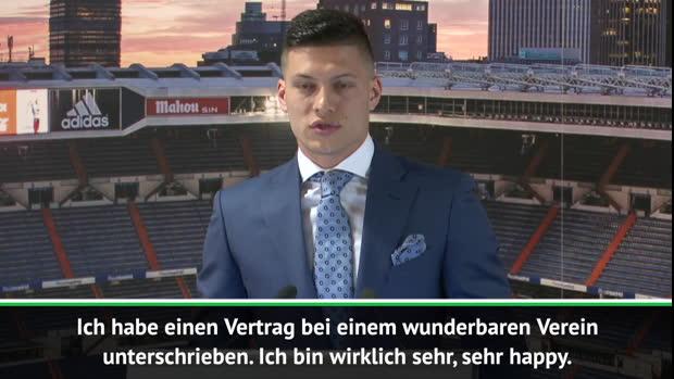 """Jovic bei Real: """"Glücklichster Mensch der Welt"""""""