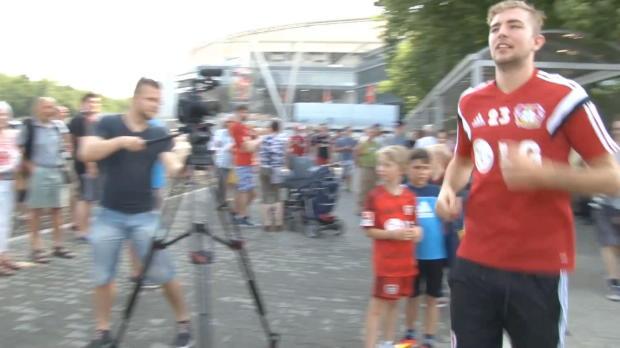 Auftakt bei Bayer: Weltmeister Kramer zurück
