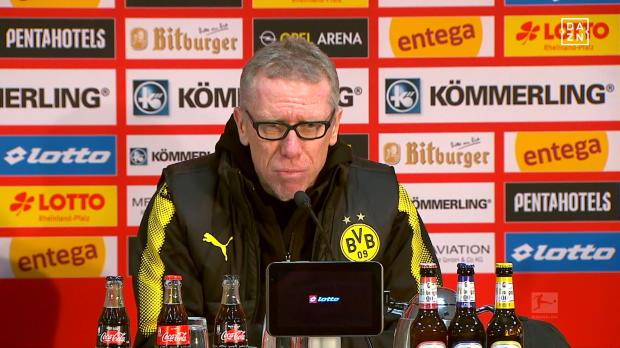 """Stöger nach BVB-Sieg: """"Sehr, sehr zufrieden!"""""""