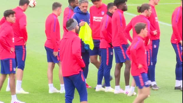 Atlético - Après sa mutinerie, Costa reprend l'entraînement