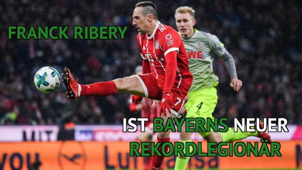 Bayerns Legionäre: Ribery neuer Rekordmann