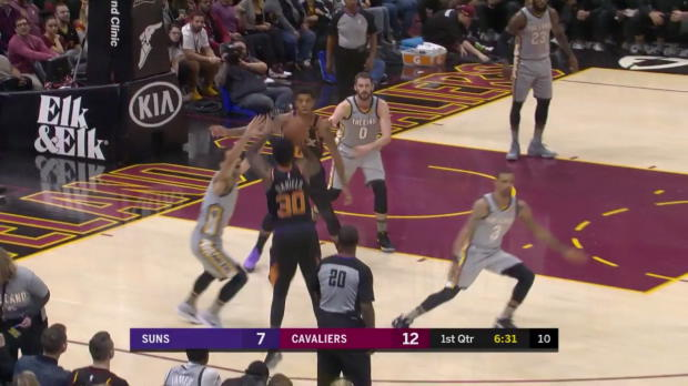 WSC: LeBron James (27 points) Highlights vs. Phoenix Suns, 03/23/2018
