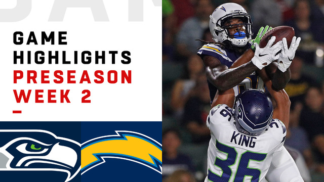 Seahawks vs. Chargers highlights | Preseason Week 2
