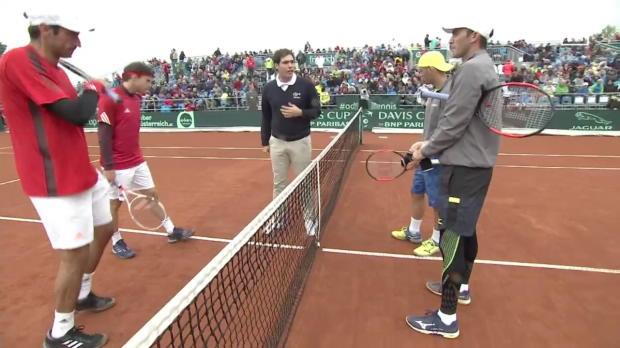 Österreich - Rumänien: Tag 2 Davis Cup