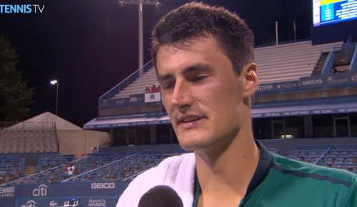 Tomic Interview: ATP Washington 2R