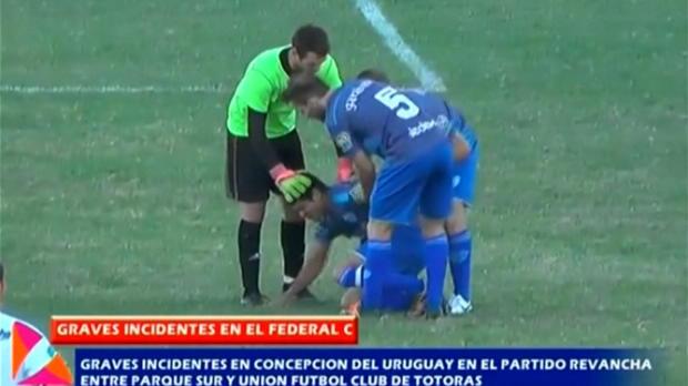 Argentinien: Spielabbruch nach Gewaltexzessen