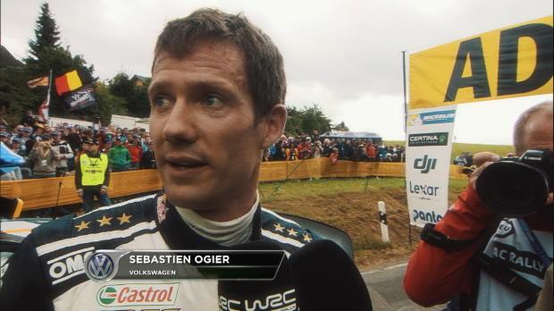 WRC: Ogier in Deutschland nicht zu stoppen