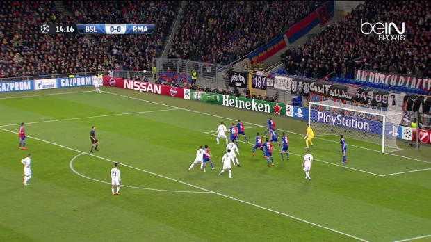 LdC : FC Bâle 0-1 Real Madrid