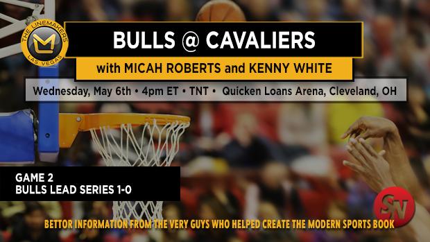 Bulls @ Cavaliers Game 2