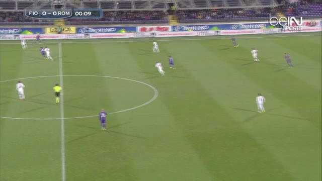 Serie A : Fiorentina 1-1 AS Roma