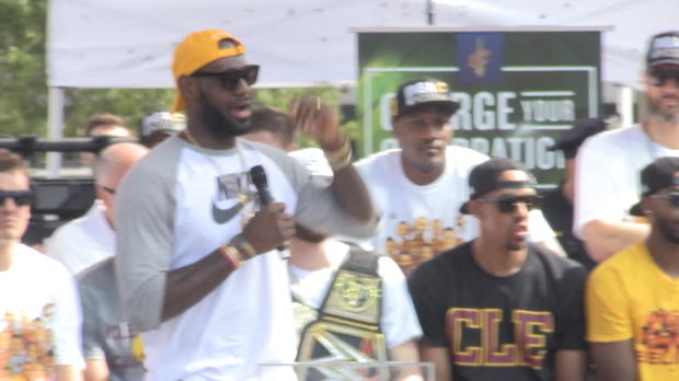 """Basket : NBA - Cavaliers - James - """"Je ne suis qu'un homme"""""""