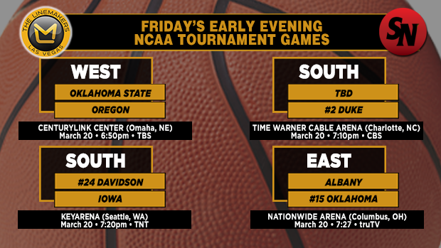 Friday Early Evening Games