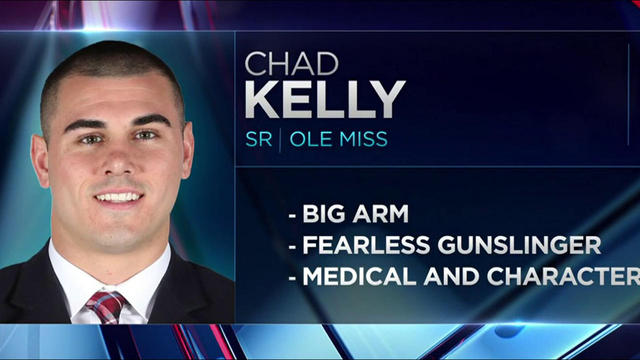 Mike Mayock: Without medical and character issues, Chad Kelly is Round 1 QB