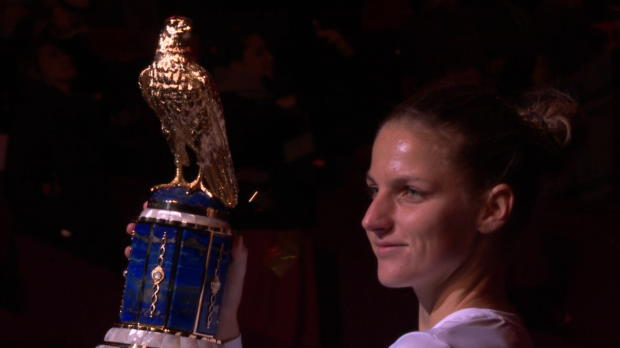 Doha: Pliskova triumphiert bei den Qatar Open