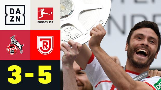 2. Bundesliga: 1. FC Köln - SSV Jahn Regensburg   DAZN Highlights