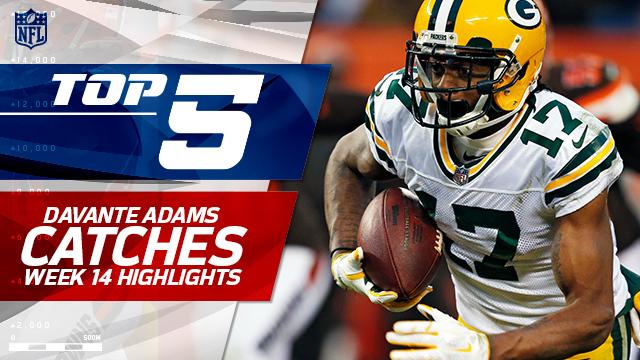 Top 5 Davante Adams catches | Week 14