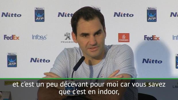 """Tennis : Masters - Federer - """"Le meilleur retourneur a battu le meilleur serveur"""""""