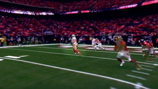 freeD: Go inside Jimmy Garoppolo's helmet as he finds Celek for the 2-yard TD